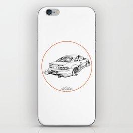 Crazy Car Art 0205 iPhone Skin