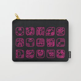 Maya Writing System Carry-All Pouch