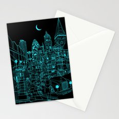 London! Night Stationery Cards