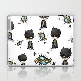 Super-cute-super-heroes bat-man Laptop & iPad Skin