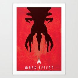 Mass Effect Print Art Print