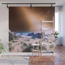 Let There Be Light : Exozodiacal Light on Alien Planet Wall Mural
