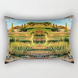 Garden of Riches Rectangular Pillow