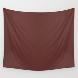 After Silence, Music ~ Reddish Brown Wall Tapestry
