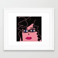 ursula Framed Art Prints featuring Ursula by Rimadi