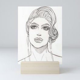 Glamour Heights Mini Art Print
