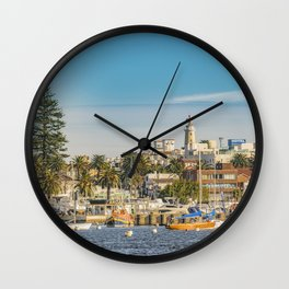 Punta del Este Port, Uruguay Wall Clock