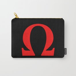 Ω omega Carry-All Pouch
