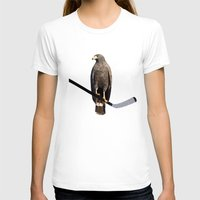 blackhawks T-shirts featuring Polyhawk by fohkat