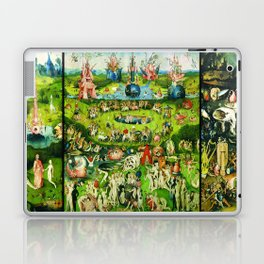 The Garden of Earthly Delights Triptych by Hieronymus Bosch Laptop & iPad Skin