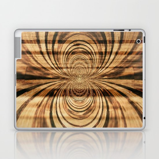 Spider Wood Laptop & iPad Skin