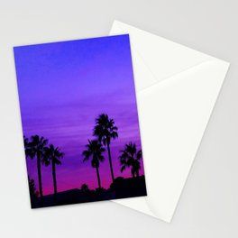 night call Stationery Cards