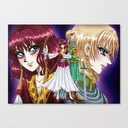 Akatsuki no Yona fanart feat Princess Kouren Canvas Print