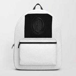Riggo Monti Design #1 - Riggo Emblem (Blk. Bkgrnd.) Backpack