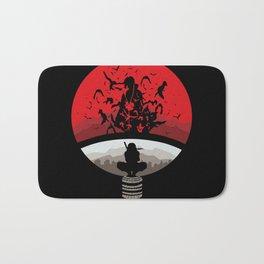 Naruto Shippuden Uchiha Clan Logo Bath Mat