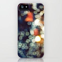 Bokeh Nights iPhone Case