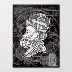Umbrella Queen Canvas Print