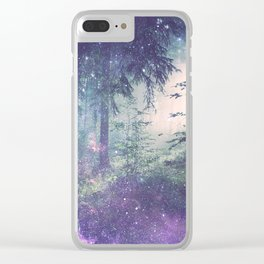 Forest of Wonder Clear iPhone Case
