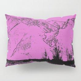 Knik River Mts. Pop Art - 5 Pillow Sham
