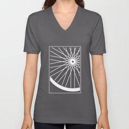 Mountain Bike Wheel - Trail Biking T-Shirt Unisex V-Neck