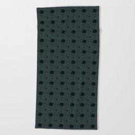 Gloomy Garden Beach Towel