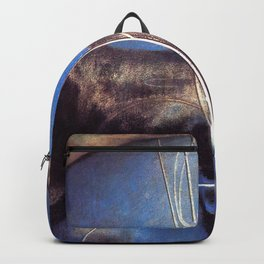 Song of the Nightingale, Tuscany, Italy landscape by Joseph Stella Backpack