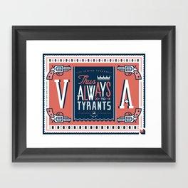Virginia Framed Art Print