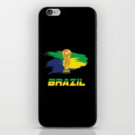 World cup Brazil iPhone Skin