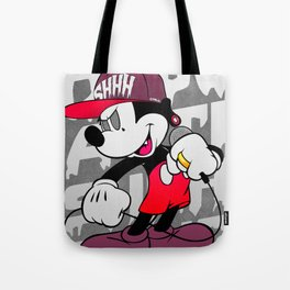 Mickey Dead Eyes - SHHHGang Inc. Poster Tote Bag