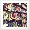 Boot wall by karenlouise