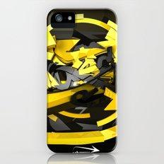 3d graffiti - 'Voltage iPhone (5, 5s) Slim Case