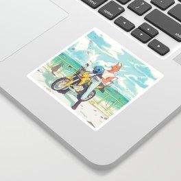 Sky Bike Sticker