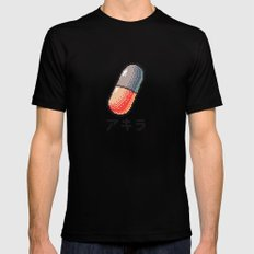 Akira - What a pill ? Mens Fitted Tee MEDIUM Black