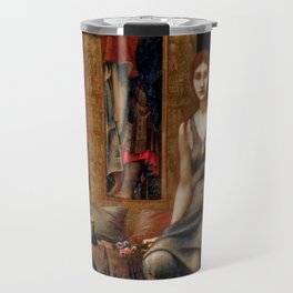 "Edward Burne-Jones ""King Cophetua and the Beggar Maid"" Travel Mug"