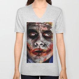 The Joker Painted Unisex V-Neck
