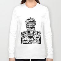sandra dieckmann Long Sleeve T-shirts featuring Sandra Bland - Black Lives Matter - Series - Black Voices by NOxLA