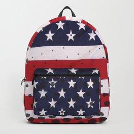 USA - American Flag Backpack