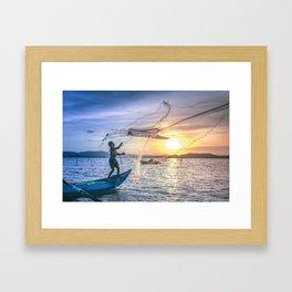 Cast the Net Framed Art Print