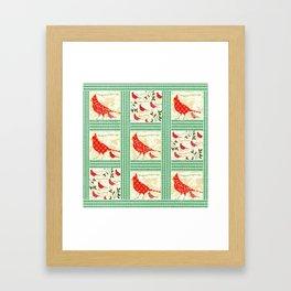 Seasons Tweetings Family Framed Art Print