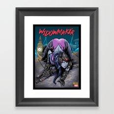 The Amazing Widow Maker #1 Framed Art Print