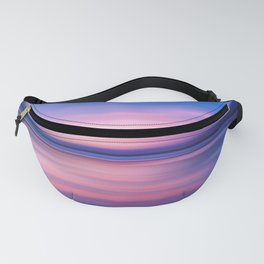 Abstract Sunset III Fanny Pack