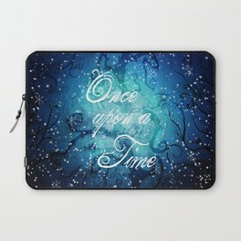 Once Upon A Time ~ Winter Snow Fairytale Forest Laptop Sleeve