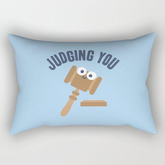 Held In Contempt Rectangular Pillow