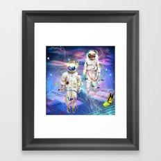 Final Frontier Framed Art Print