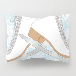 Ice skates Pillow Sham
