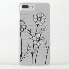 Note to Self Clear iPhone Case