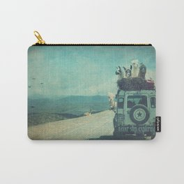 NEVER STOP EXPLORING II SOUTH AMERICA Carry-All Pouch