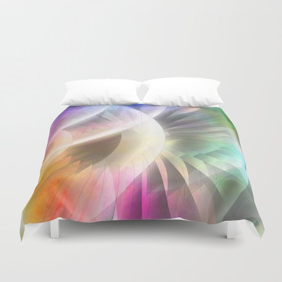 Multicolored abstract no. 60 Duvet Cover