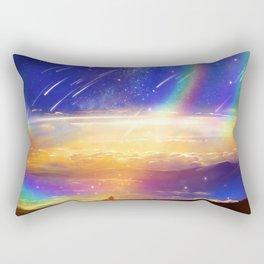 Waiting for a New Day Rectangular Pillow