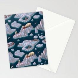 Icebergs Stationery Cards